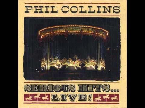 Phil Collins Something Happened On The Way To Heaven Live (Serious Hits )