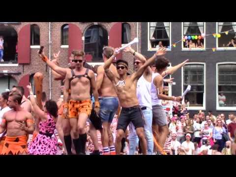 Amsterdam Gay Pride 2017, Canal Parade 9/13 - Secret Garden, Carbon, Astare, GroenLinks, Vodafone