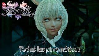 Dissidia Final Fantasy NT - Todas las cinemáticas Sub Español
