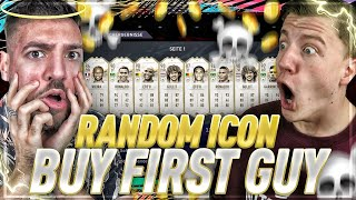FIFA 21 : RIP WAKEZ 😱🔥 RANDOM ICON BUY FIRST GUY!