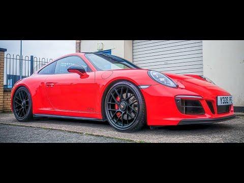 Porsche 991.2 GTS – H&R Lowering Springs Install