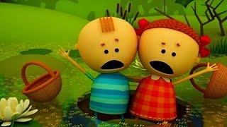 Аркадий Паровозов спешит на помощь - Почему опасно собирать клюкву на болоте- мультфильм детям