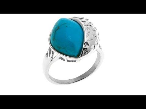 Jay King Angel Peak Turquoise Sterling Silver Ring