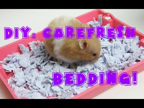 DIY: How to make your own Carefresh bedding!