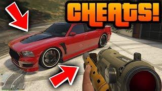 "GTA 5: ""ALL CHEAT CODES 2018!"" - PS4, Xbox One & PC! [Cheats] (Grand Theft Auto 5: All Cheats)"