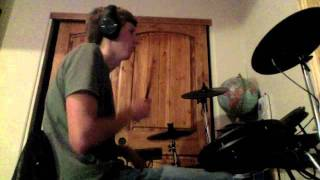 Almost drum cover by bowling for soup