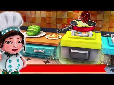 Crazy Kitchen Fever: Chef Restaurant Cooking Games
