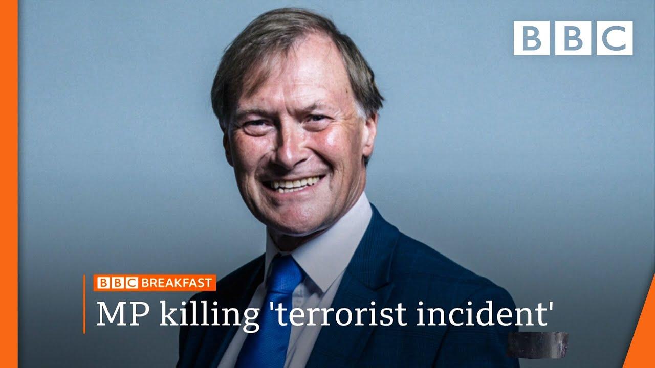 British Police Search London Homes in Wake of David Amess Killing