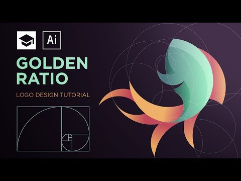 How to design a logo with golden Ratio #2 | Adobe Illustrator Tutorial