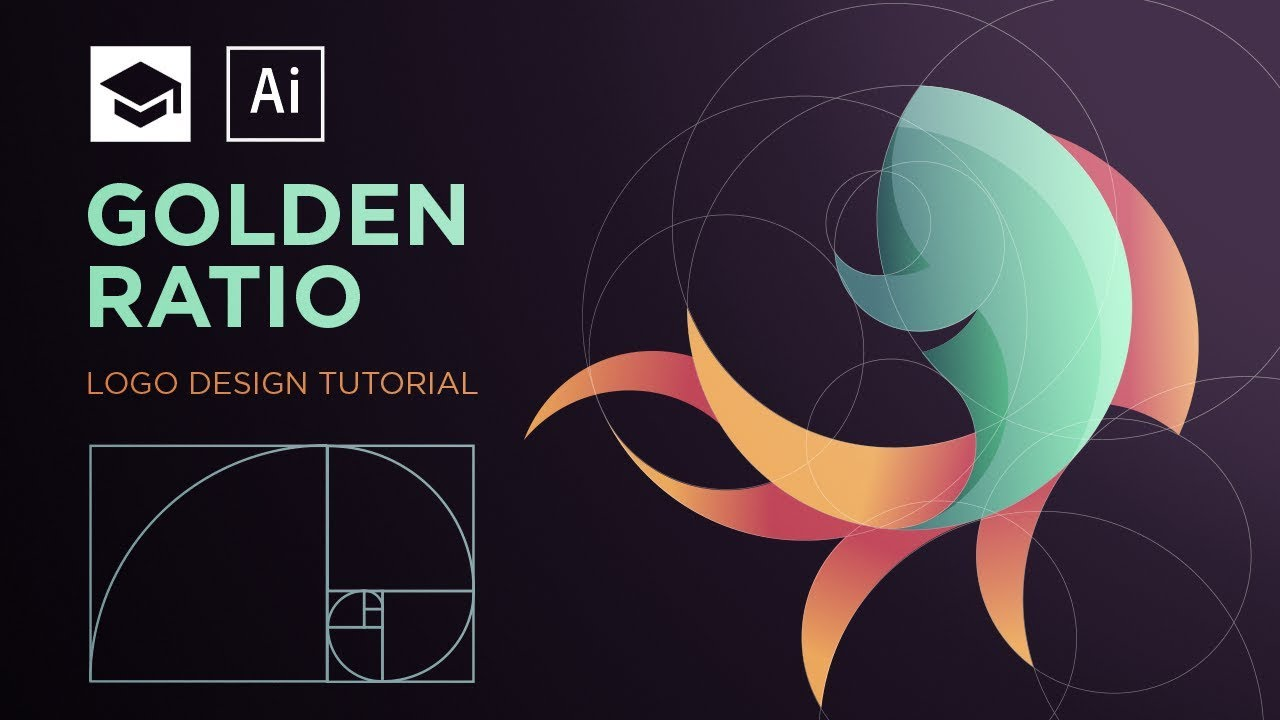 How to design a logo with golden Ratio #2 | Adobe