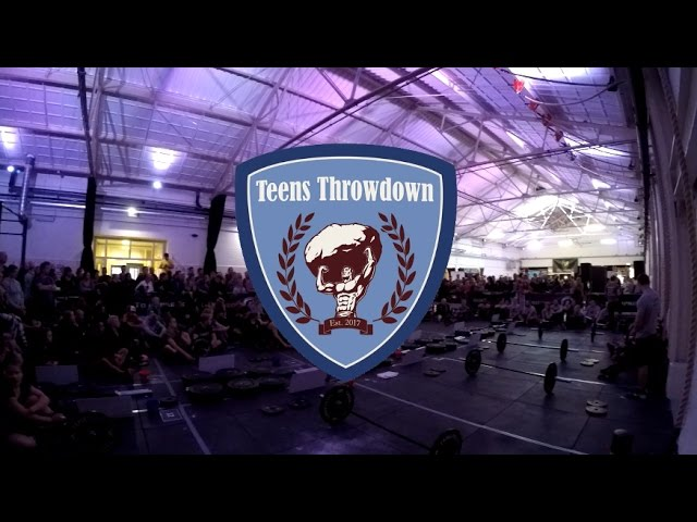 Teens Throwdown 2017