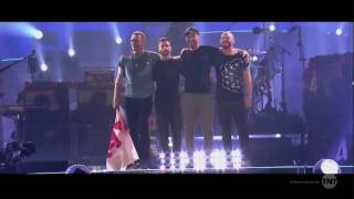 Coldplay win Best Tour at iHeartAwards 2017
