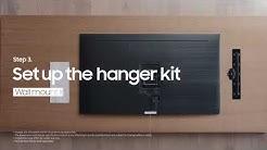 Katso ja opi, kuinka asentaa Samsung QLED TV No Gap -seinäkiinnike