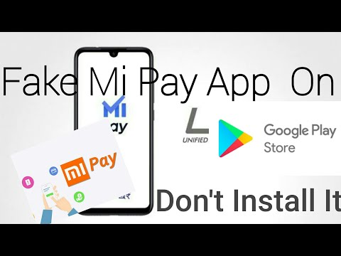 Fake Mi Pay Payment App in Google Play Store| Don't Install