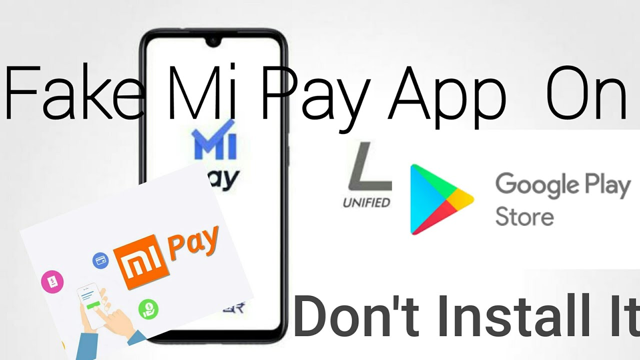 Fake Mi Pay Payment App in Google Play Store| Don't Install it|