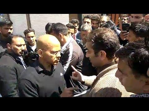 FIR  Lodged against hotelier Farooq Shah for obstructing IG Basant Rath
