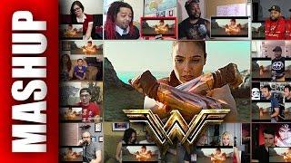 WONDER WOMAN Trailer 3 Reactions Mashup