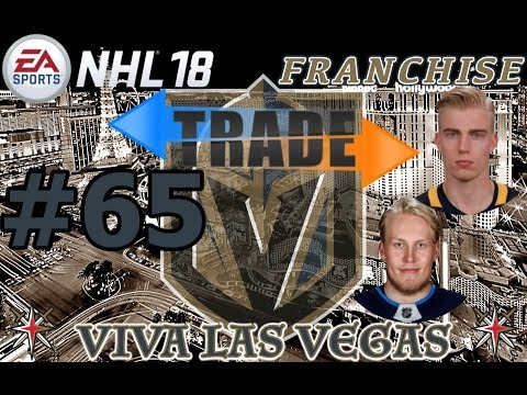 "NHL 18: Vegas Golden Knights Franchise #65 ""SUPERSTAR TRADE"""