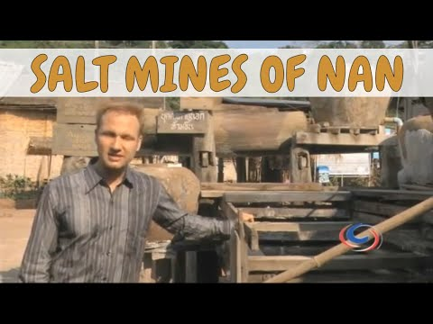 The Largest National Park and Salt Mines in Nan Province