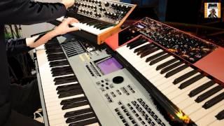 Ricochet part 2 - Tangerine Dream motif xs 8,moog sub37,clavia nord...