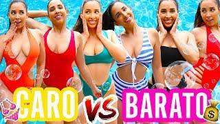 BIKINI CARO VS BARATO 👙 ADIVINAS EL PRECIO?? ☀️ , Mariale