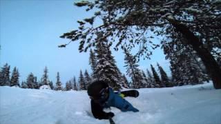 видео Новый год на горнолыжном курорте Рука