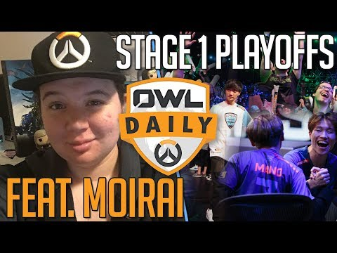 "2-11-18 - ""Stage 1 Playoffs feat. Moirai"" - Overwatch League Daily"