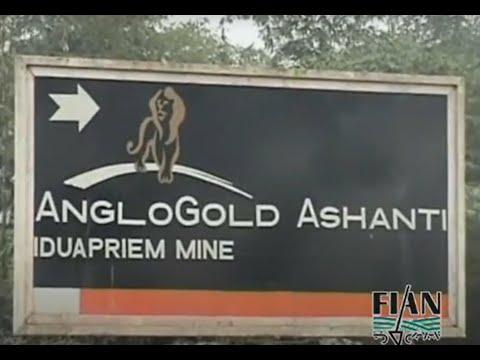 Die Mine Iduapriem AngloGold Ashanti in Ghana