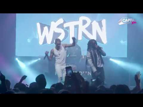 WSTRN Performing 'Ben Ova' At Capital XTRA Homegrown Live