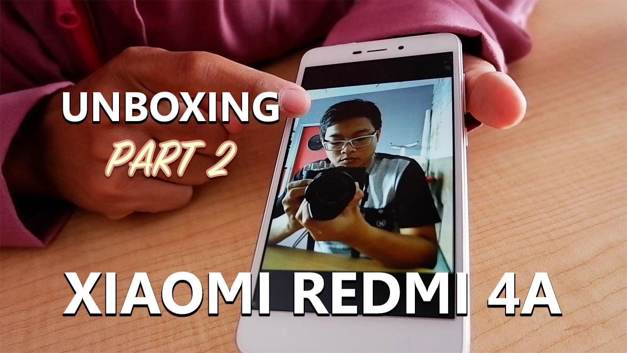 Unboxing Xiaomi Redmi 4A Indonesia