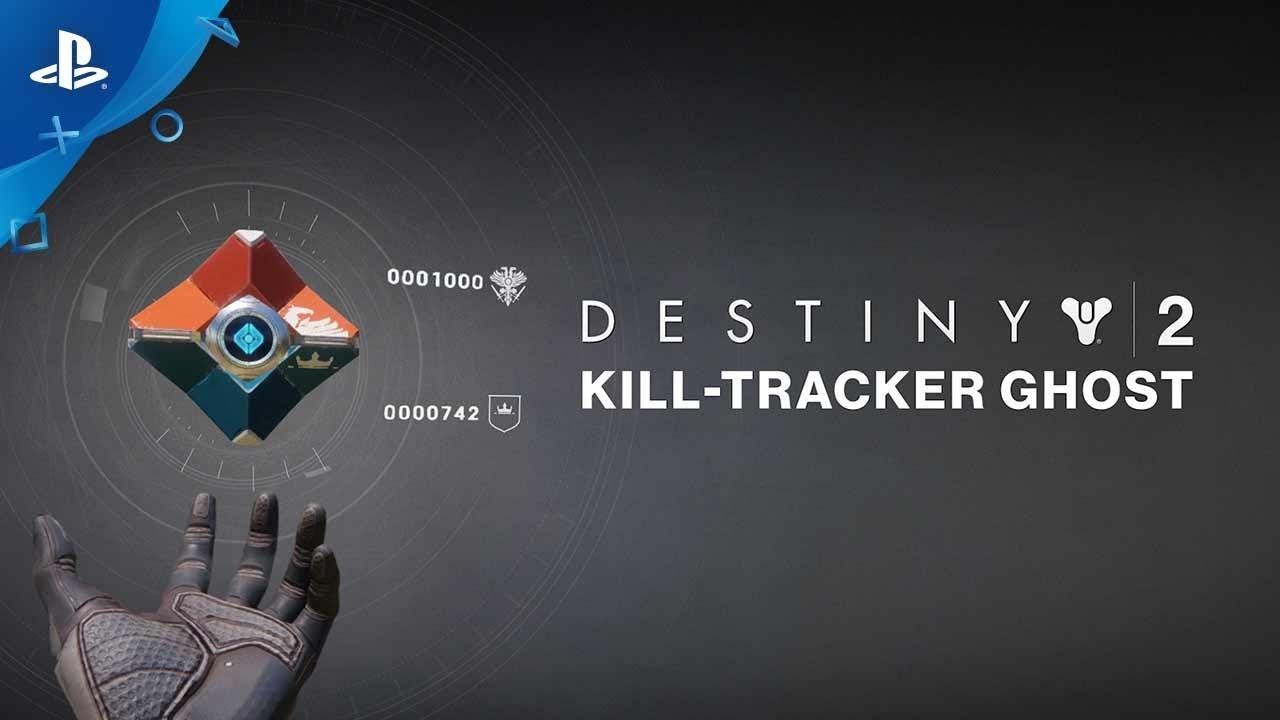 Destiny 2 Kill Tracker Ghost Pre Order Trailer Ps4 Youtube