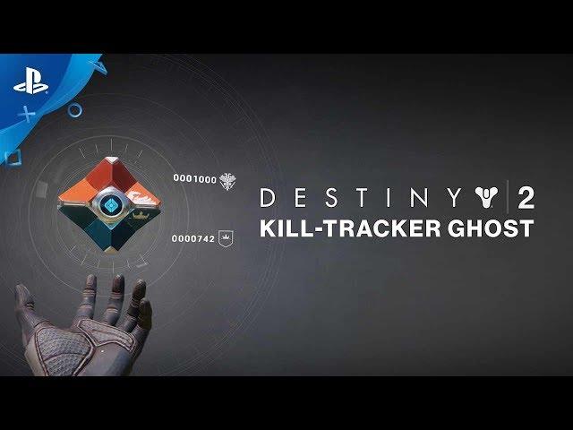 Destiny 2 - Kill-Tracker Ghost Pre-Order Trailer | PS4