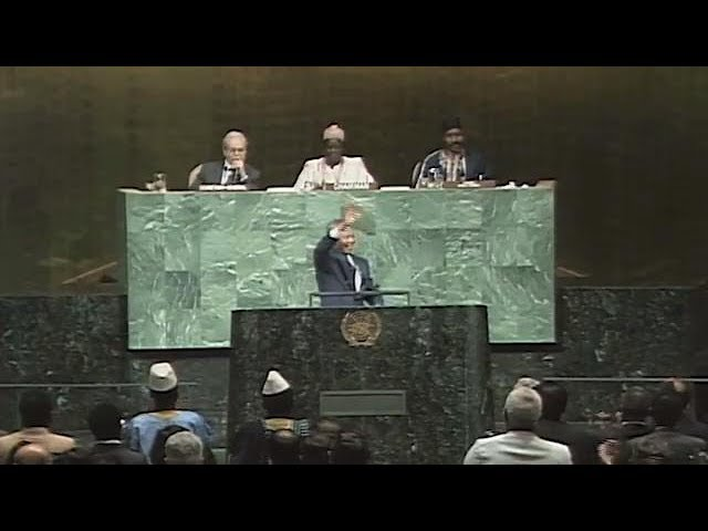 Nelson Mandela: A Call to Action for Democracy, Peace and Prosperity for All