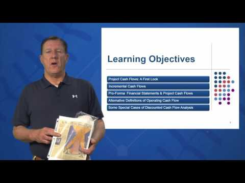 Session 10: Objective 1 - Project Cash Flows (A First Look) (2016)