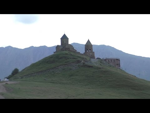 Georgia - Kazbegi - Gergeti Trinity Church