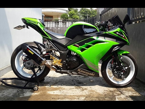 Image result for ninja 250 fi hijau knalpot racing