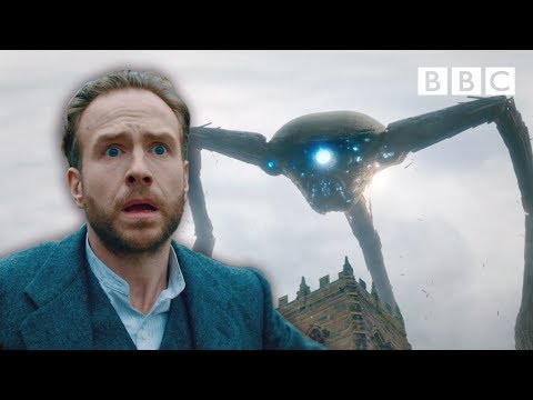 Martian Tripod wreaks havoc on Woking! | War of the Worlds - BBC