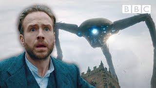 Martian Tripod wreaks havoc on Woking! | War of the Worlds - BBC