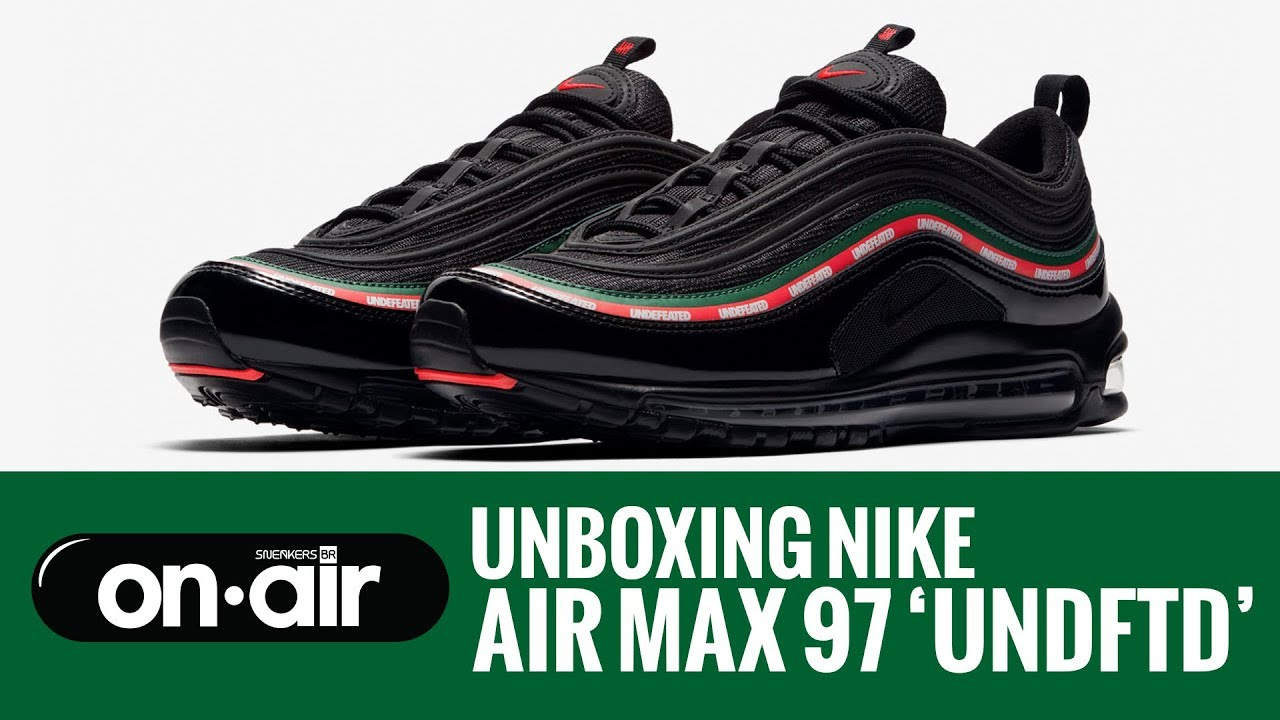 9503205e62 SBROnAIR Vol. 39 - Unboxing Nike Air Max 97  UNDFTD  -  piranomeuair ...