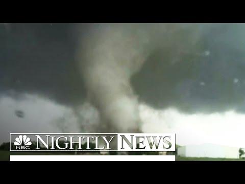 Violent Tornado Causes Major Damage Amid Outbreak in Oklahoma | NBC Nightly News