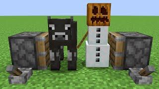 cow + snow golem = ???