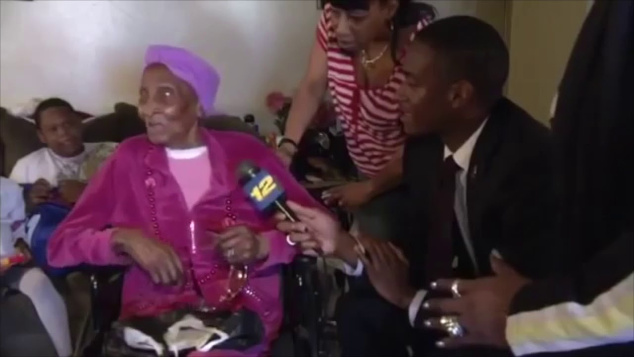 100 Year Old Woman Wants Dick For Her Birthday