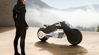 Download BMW Self Balancing Motorbike Demonstration LIVE Driving BMW Vision 100 BMW Autonomous Bike CARJAM Mp3 and Videos