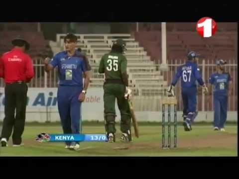 11.10.2013 ODI Cricket match Afghanistan vs Kenya Sharjah Part 1 کرکت - افغانستان و کنیا thumbnail