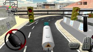 Real Oil Tanker Truck Driving - Gameplay Android