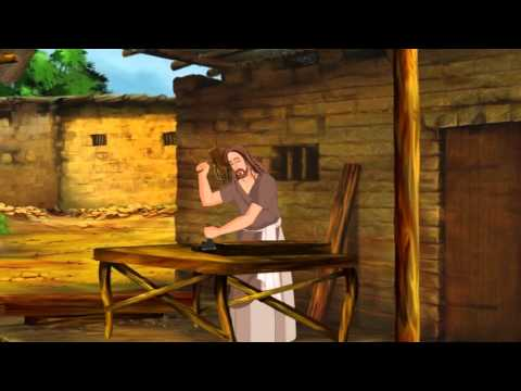 Bible Stories For Kids - Peter's Amazing Catch ( English Cartoon Animation)