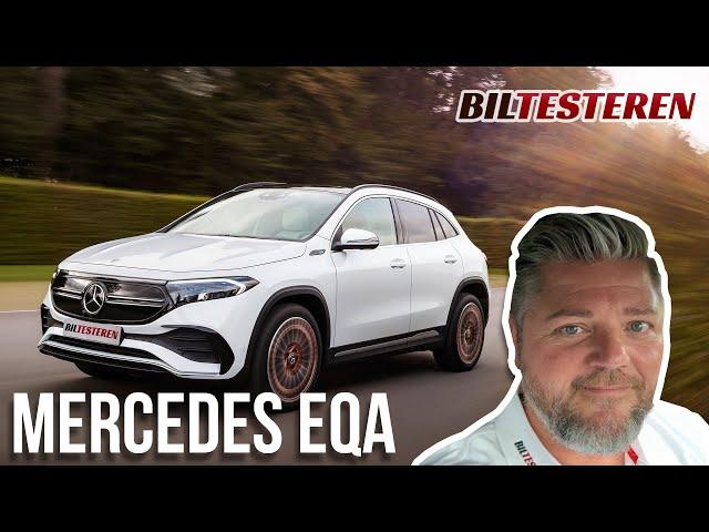 Ny fuldelektrisk Mercedes-Benz EQA (præsentation)
