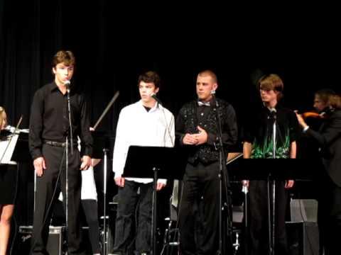 East Hampton High School  quartet Devil went down to Georgia