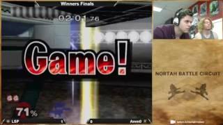 nortah battle circuit 24 wf lsp jigglypuff falco vs amm0 fox
