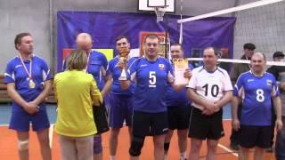 Награждение победителей.Волейбол ветераны 28.03.15г